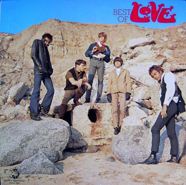 Love - Best Of Love (LP, Comp) - USED