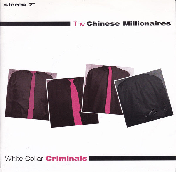 "The Chinese Millionaires - White Collar Criminals (7"", EP, RE, Cle) - USED"