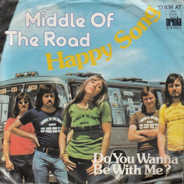 "Middle Of The Road - Happy Song (7"", Single) - USED"