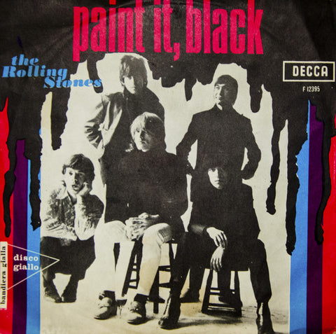 "The Rolling Stones - Paint It, Black (7"", Single) - USED"