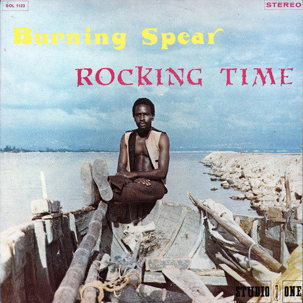 Burning Spear - Rocking Time (LP, Album, RP) - USED