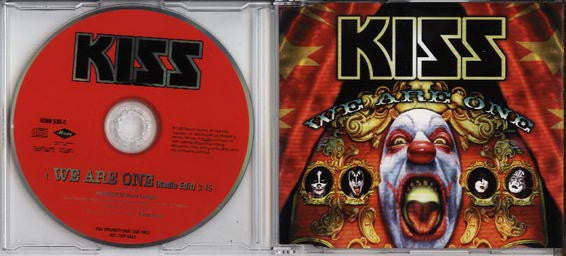Kiss - We Are One (CD, Promo, Single) - USED