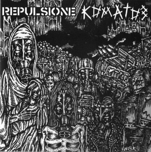 "Repulsione / Коматоз* - Repulsione / Коматоз (7"", EP) - USED"