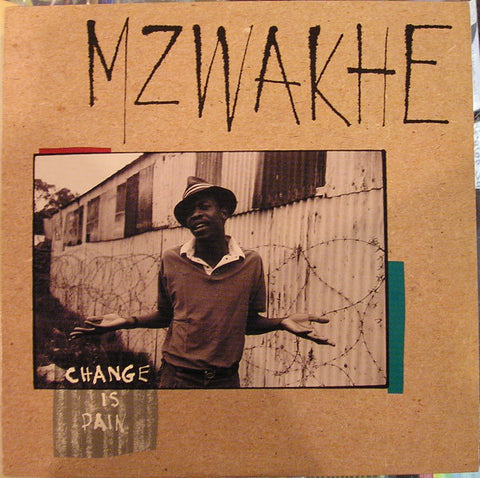 Mzwakhe* - Change Is Pain (LP, Album) - USED