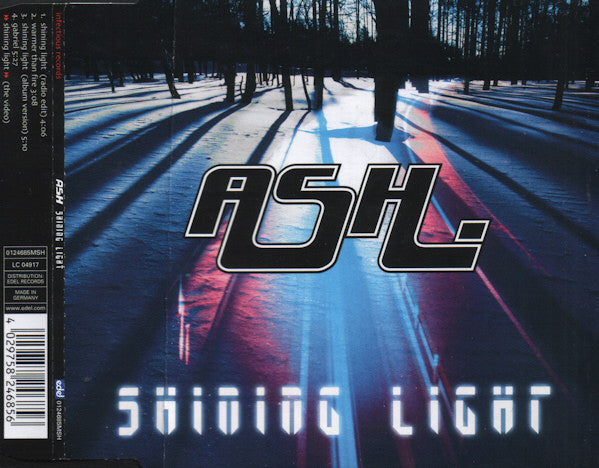 Ash - Shining Light (CD, Single, Enh) - USED