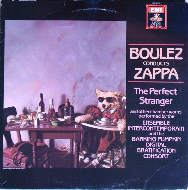 Boulez* Conducts Zappa* - The Perfect Stranger (LP, Album) - USED