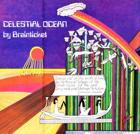 Brainticket - Celestial Ocean (LP, Album, RE, RM + CD, Album, RM) - NEW