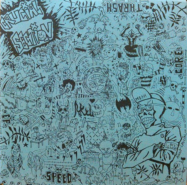 "Crucial Section - Speed Core Thrash EP (7"", EP) - USED"