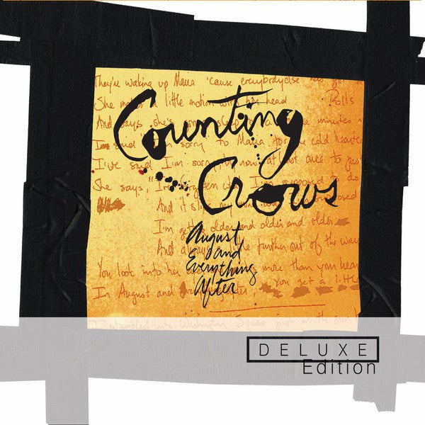Counting Crows - August And Everything After (CD, Album, RE, RM + CD, Album + Dlx, Ltd) - NEW