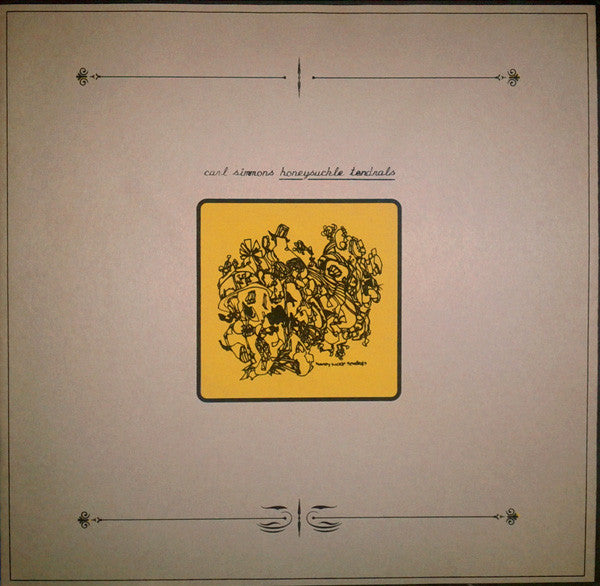 "Carl Simmons - Honeysuckle Tendrals (LP, Album, Ltd, RE + 7"", EP, Ltd) - USED"