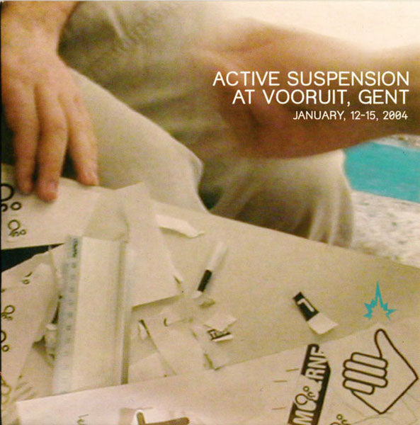 Various - Active Suspension At Vooruit, Gent (CD, Comp, Promo) - USED