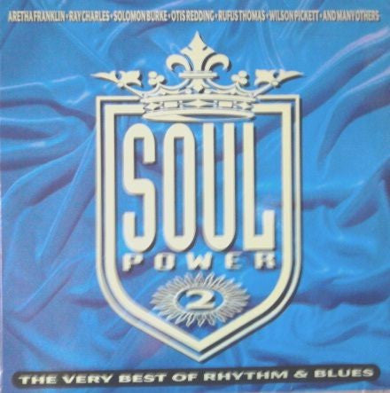Various - Soul Power 2 (The Very Best Of Rhythm & Blues) (2xLP, Comp) - USED