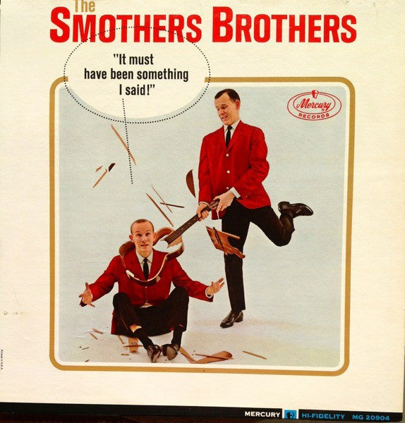 The Smothers Brothers* - It Must Have Been Something I Said (LP, Mono) - USED