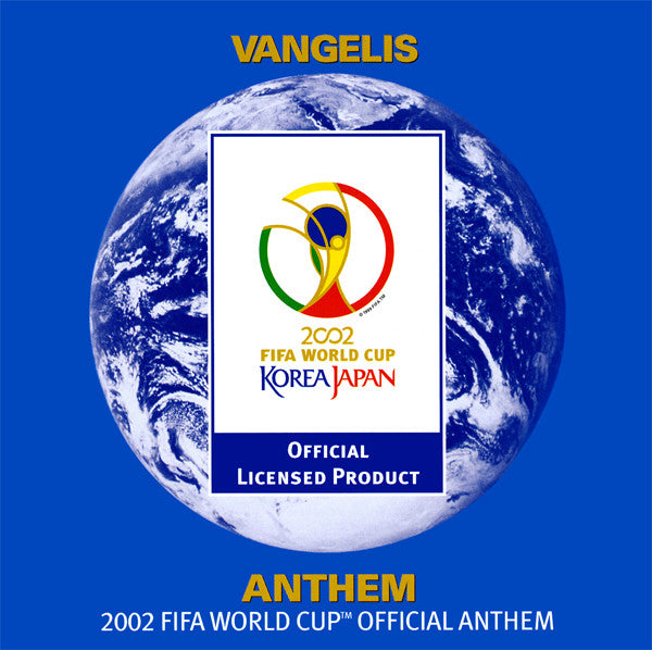 Vangelis - Anthem (The 2002 FIFA World Cup Official Anthem) (CD, Single) - USED