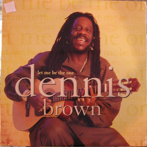 Dennis Brown - Let Me Be The One (LP, Album) - USED
