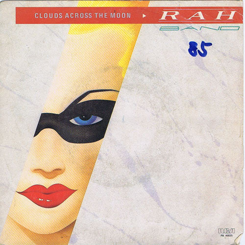 "Rah Band - Clouds Across The Moon (7"") - USED"