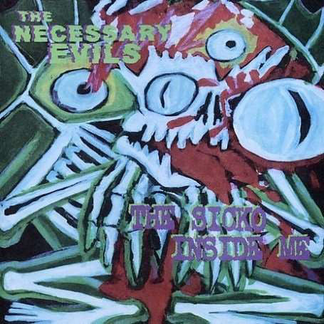 The Necessary Evils - The Sicko Inside Me (LP, Album) - USED