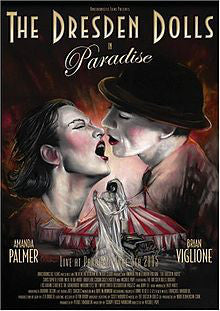 The Dresden Dolls - Paradise (DVD) - USED