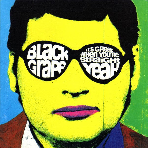 Black Grape - It's Great When You're Straight...Yeah (CD, Album) - USED