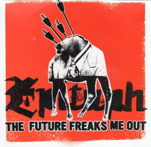 Various - Epitaph - The Future Freaks Me Out (CD, Smplr, Promo, Car) - NEW