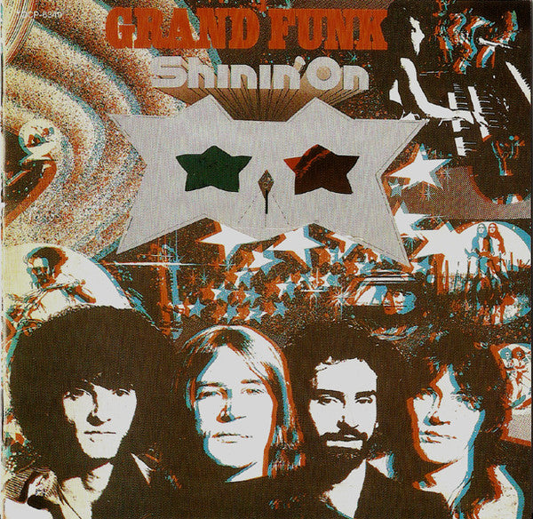 Grand Funk* - Shinin' On (CD, Album, RE) - USED
