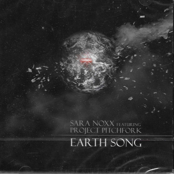 Sara Noxx Featuring Project Pitchfork - Earth Song (CD, Maxi) - USED