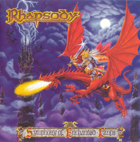 Rhapsody - Symphony Of Enchanted Lands (CD, Album) - USED