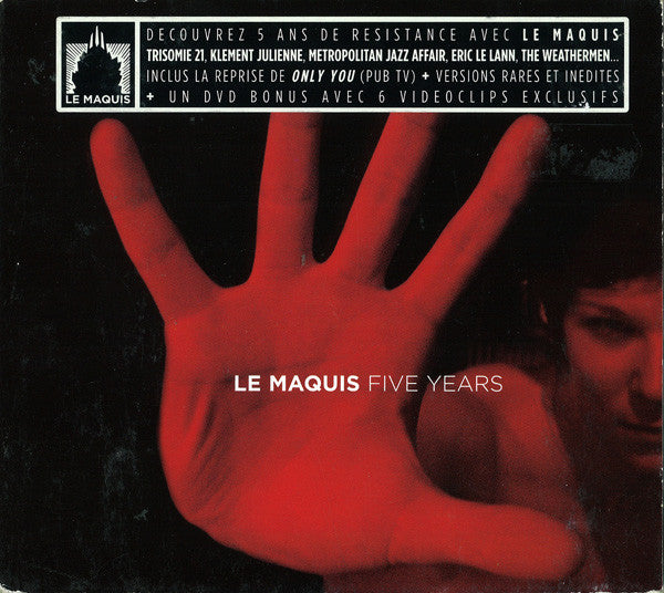 Various - Le Maquis Five Years (CD, Comp + DVD-V, Comp) - USED