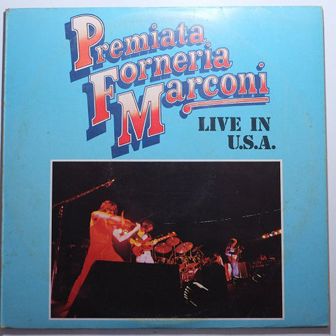 Premiata Forneria Marconi - Live In U.S.A. (LP, Album) - USED