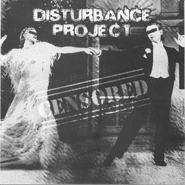 "Disturbance Project / Terrorismo Musical - Censored / Untitled (7"", EP) - USED"