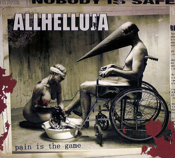 Allhelluja - Pain Is The Game (CD, Album, Dig) - NEW