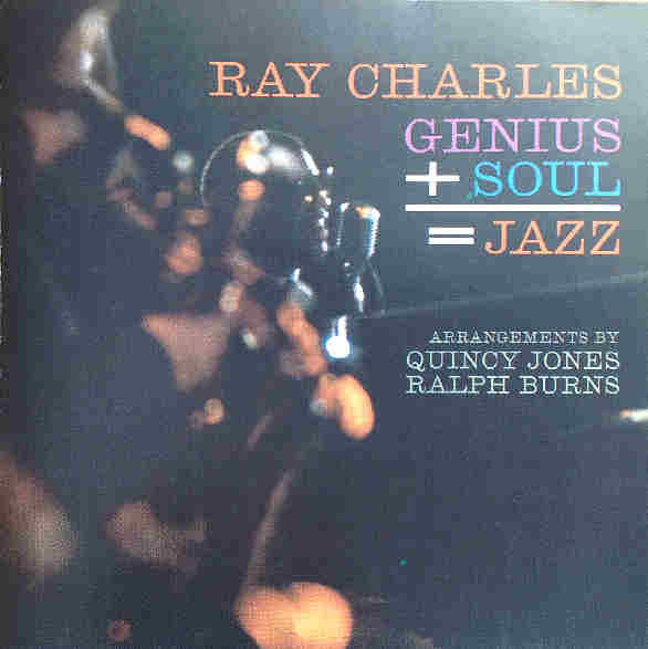 Ray Charles - Genius + Soul = Jazz (CD, Album, RE) - USED