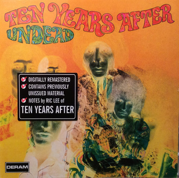 Ten Years After - Undead (CD, Album, RE, RM) - NEW