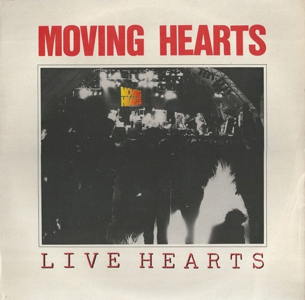 Moving Hearts - Live Hearts (LP) - USED