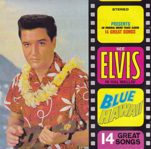 Elvis Presley - Blue Hawaii (CD, Album, RE) - USED