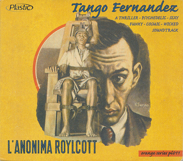 Tango Fernandez - L'Anonima Roylcott Original Soundtrack (CD) - USED