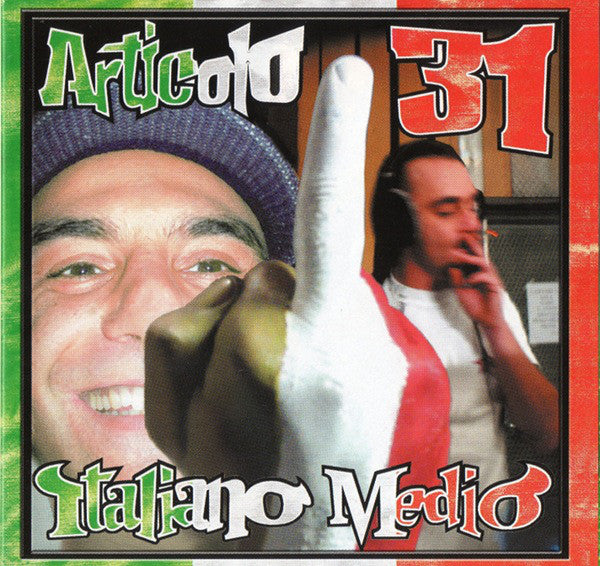Articolo 31 - Italiano Medio (CD, Album, Enh) - USED