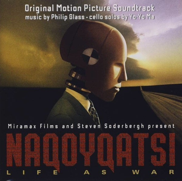 Philip Glass · Yo-Yo Ma - Naqoyqatsi (Original Motion Picture Soundtrack) (CD, Album) - NEW