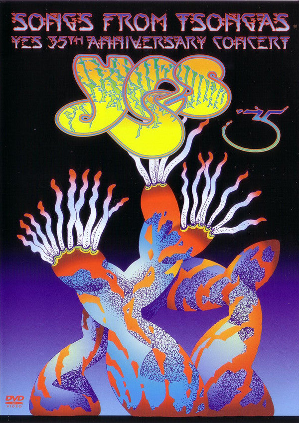 Yes - Songs From Tsongas - Yes 35th Anniversary Concert (2xDVD-V, Copy Prot., Multichannel, PAL) - USED