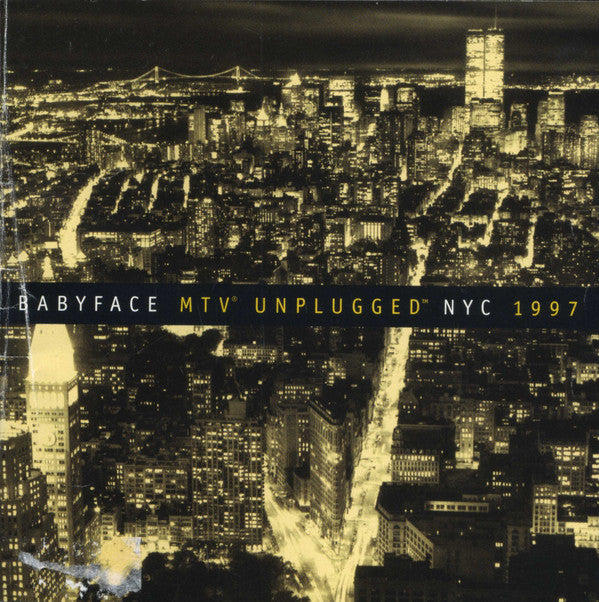Babyface - MTV Unplugged NYC 1997 (CD, Album) - USED