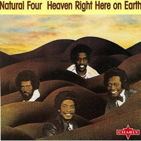 Natural Four* - Heaven Right Here On Earth (CD, Album, RE, RM) - USED
