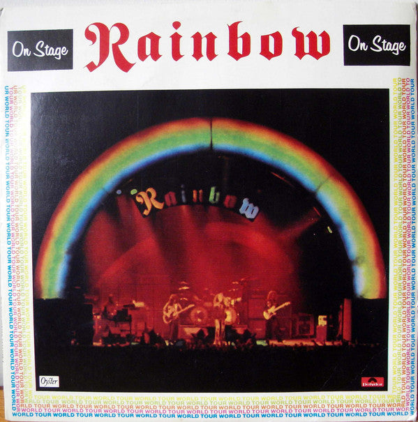 Rainbow - On Stage (2xLP, Album, Gat) - USED
