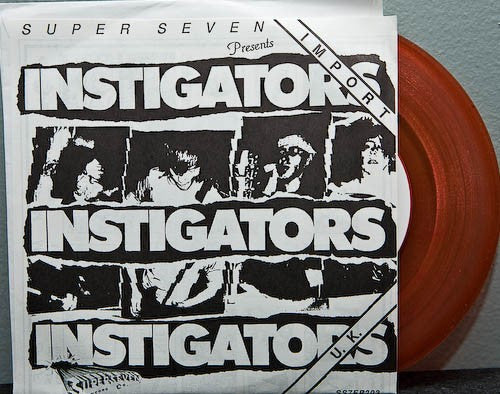 "Instigators - Recorded Live In Denmark Feb '86 (7"", EP, Cle) - USED"