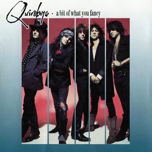 The Quireboys - A Bit Of What You Fancy (CD, Album) - USED