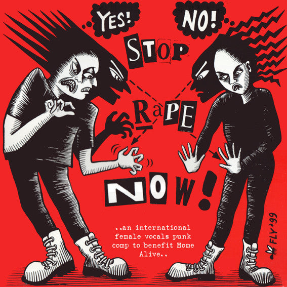 Various - Stop Rape Now! (LP, Comp) - USED