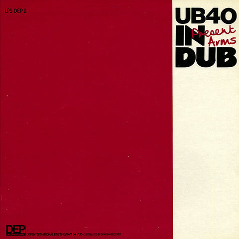 UB40 - Present Arms In Dub (LP, Album) - USED