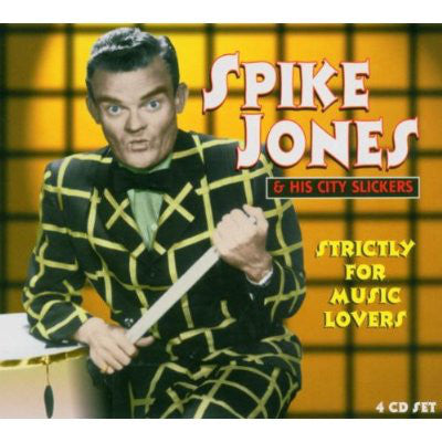 Spike Jones And His City Slickers - Strictly For Music Lovers (4xCD, Comp + Box) - USED