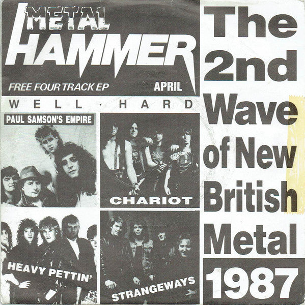 "Various - The 2nd Wave Of New British Metal 1987 (7"", EP, Promo) - USED"