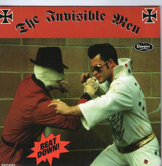 "The Invisible Men* - Beat Down! (7"", EP, Cle) - USED"