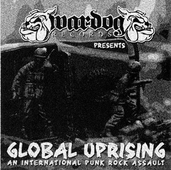 Various - Global Uprising (CD, Comp) - USED
